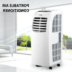 10000BTU Portable Air Conditioner Quiet Cooling AC Fan Dehum