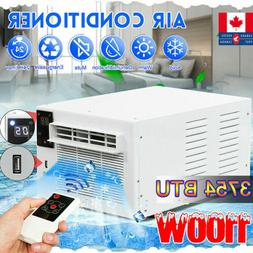 1100W 3754BTU Window Air Conditioners Cooling Heating Timing