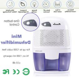 500ml Portable Mini Dehumidifier Quiet Electric Home Drying