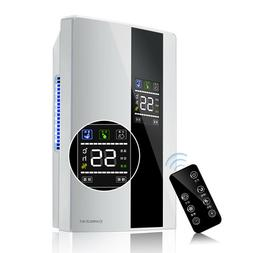 Dehumidifier Large Home 2.2L Air Dryer Damp Moisture Free Be
