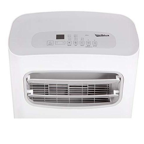 Koldfront PAC1202W Air Conditioner with Dehumidifier and Fan for Rooms to Sq. Ft. with Control