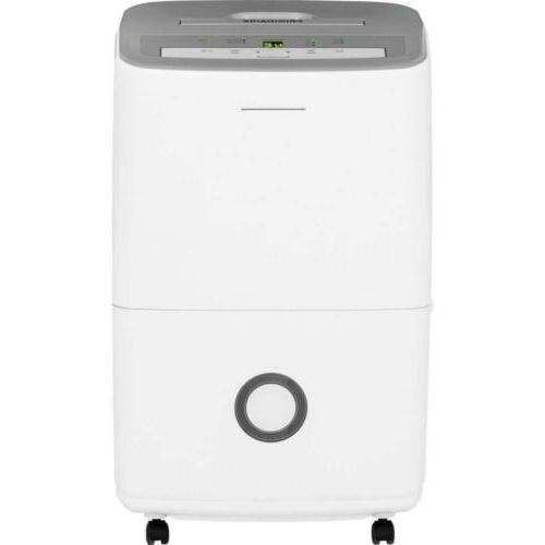 30 pint dehumidifier with effortless humidity control