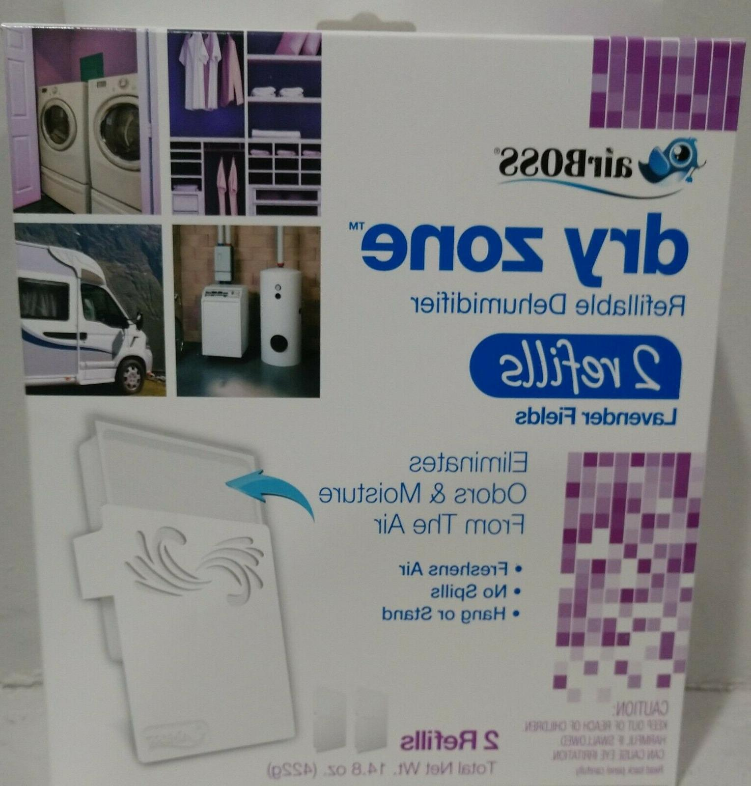 4 boxes airboss dry zone refillable dehumidifier