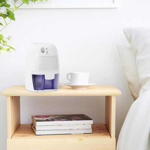 Small Space with Auto Shut-Off Extracts Moisture Portable