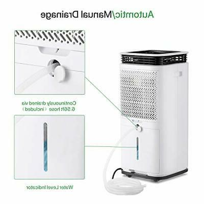 70 Pint Dehumidifiers Spaces to Sq Ft.,