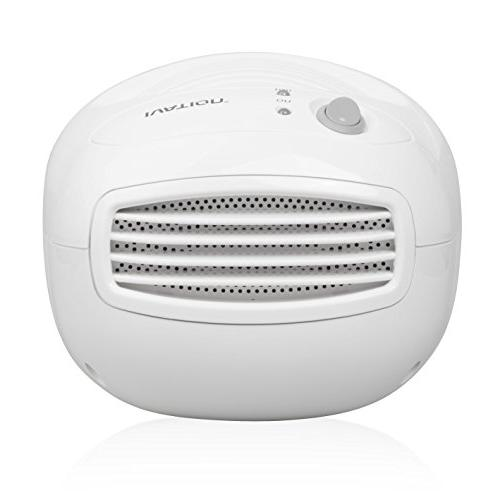 Ivation IVADM10 Powerful Thermo-Electric Dehumidifier - for Smaller Attic, RV, Antique Car