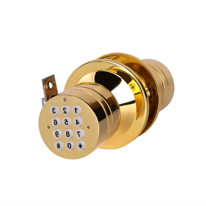 Advanced Security Bluetooth Smart Lock with Pad Low Battery Golden