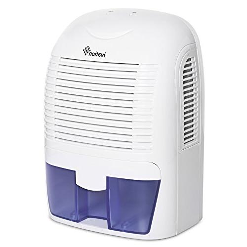 Ivation Powerful Mid-Size Thermo-Electric Dehumidifier - Gathers Up to of per Day - Spaces Up to 2,200