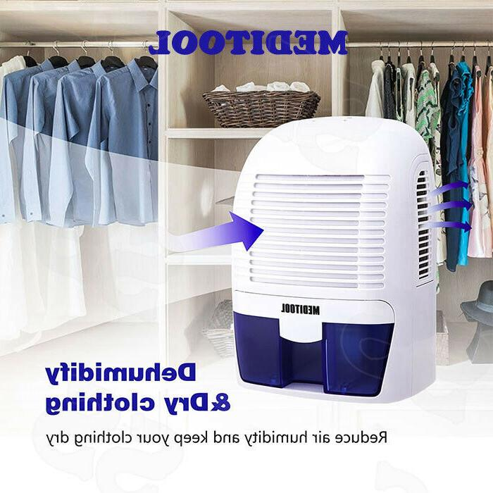 Household 1.5L Electric Air Dehumidifier Compact Portable Dr