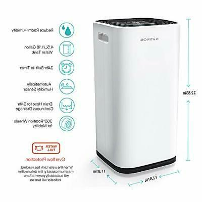 Kesnos dehumidifiers 4500 Sq Ft Home and Basements,P
