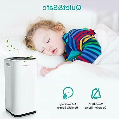Kesnos dehumidifiers for Spaces up to 4500 Home Basements,P
