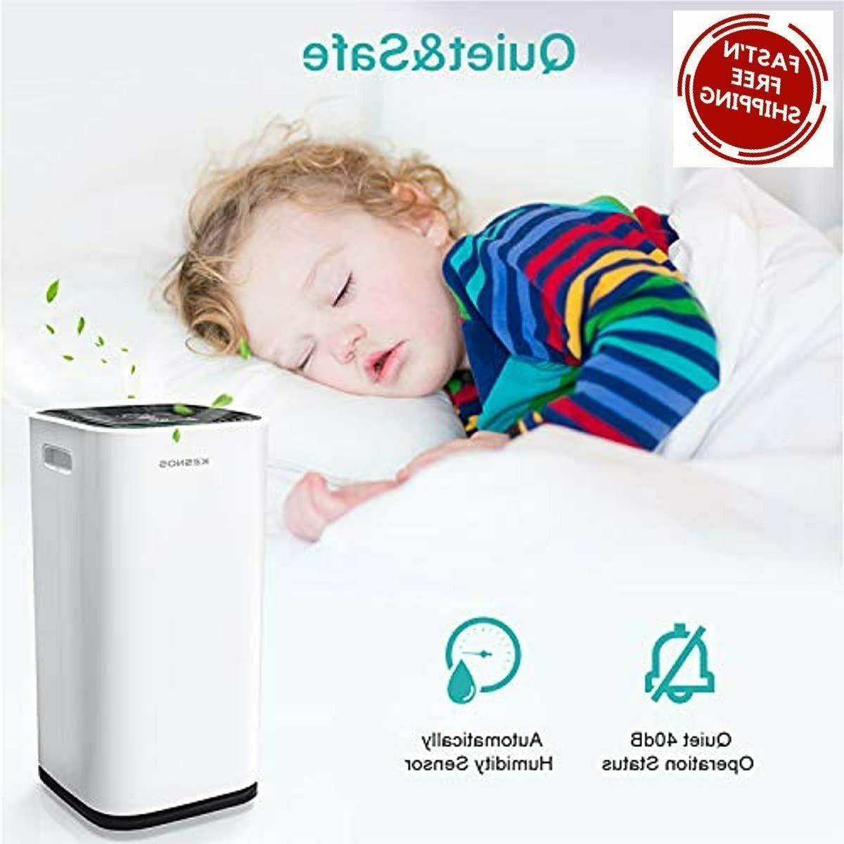 Kesnos 70 Pint dehumidifiers for Spaces 4500 Sq Home and