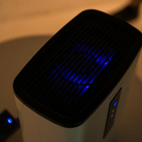 Ultra-Quiet Dehumidifier with UV for Basement