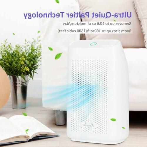 Electric 700ml Home Air Dehumidifier Quiet Moisture Absorber