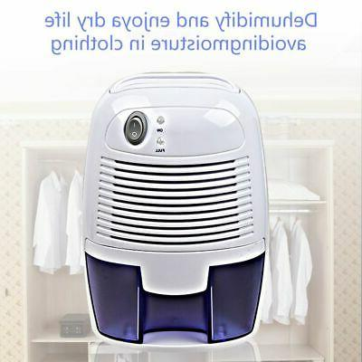 Portable Space Dehumidifier Auto Quietly Extracts