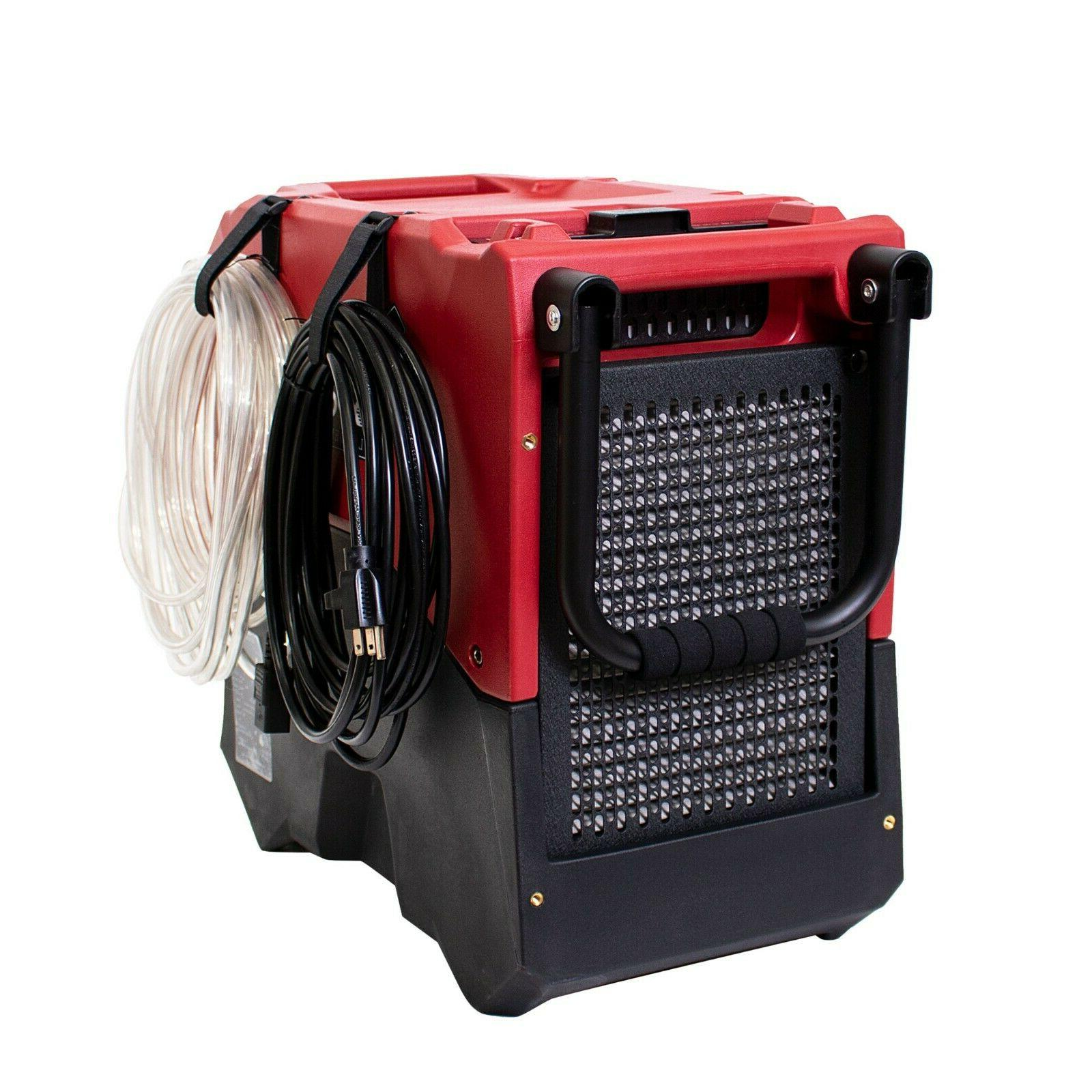 XPOWER XD-85LH,85 Pint Damage Dehumidifier-Red