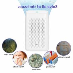 Portable Electric Small Dehumidifier Damp Mould Quiet Moistu